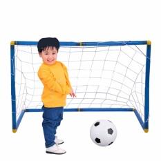 Bộ đồ chơi khung thành bóng đá cao cấp (Gồm bóng và bơm bóng)