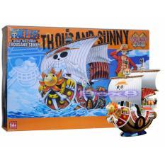 Bộ đồ chơi mô hình lắp ráp tàu One Piece 01 Thousand Sunny [3GD]