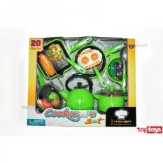 Bộ đồ chơi nấu ăn 20 chi tiết Toptoys KS8185