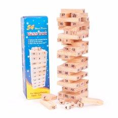 Bộ đồ chơi rút gỗ 54 thanh cho bé