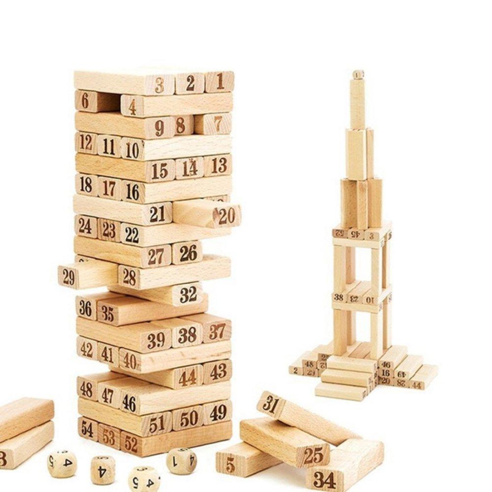 Bộ đồ chơi rút gỗ 54 thanh GocgiadinhVN
