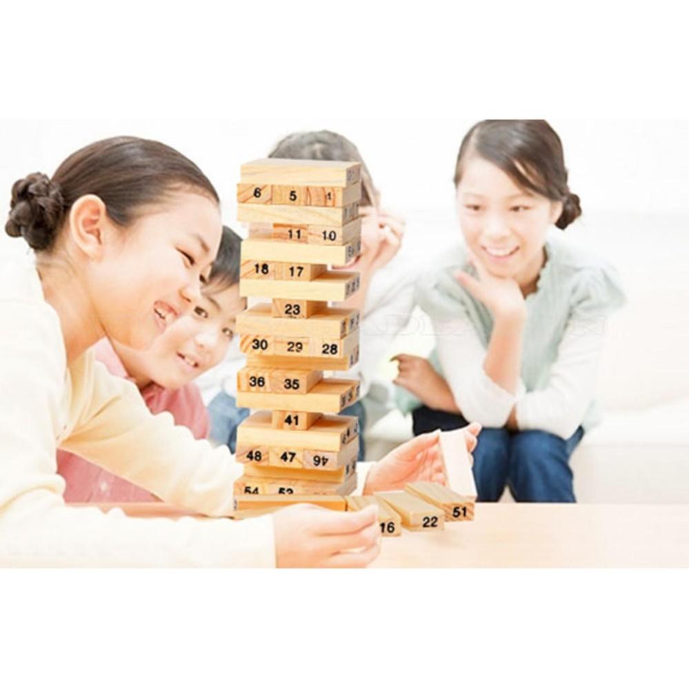 Bộ đồ chơi rút gỗ cho bé