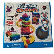 Bộ đồ chơi sáng tạo Bunchems Mega Pack 500 mảnh ghép