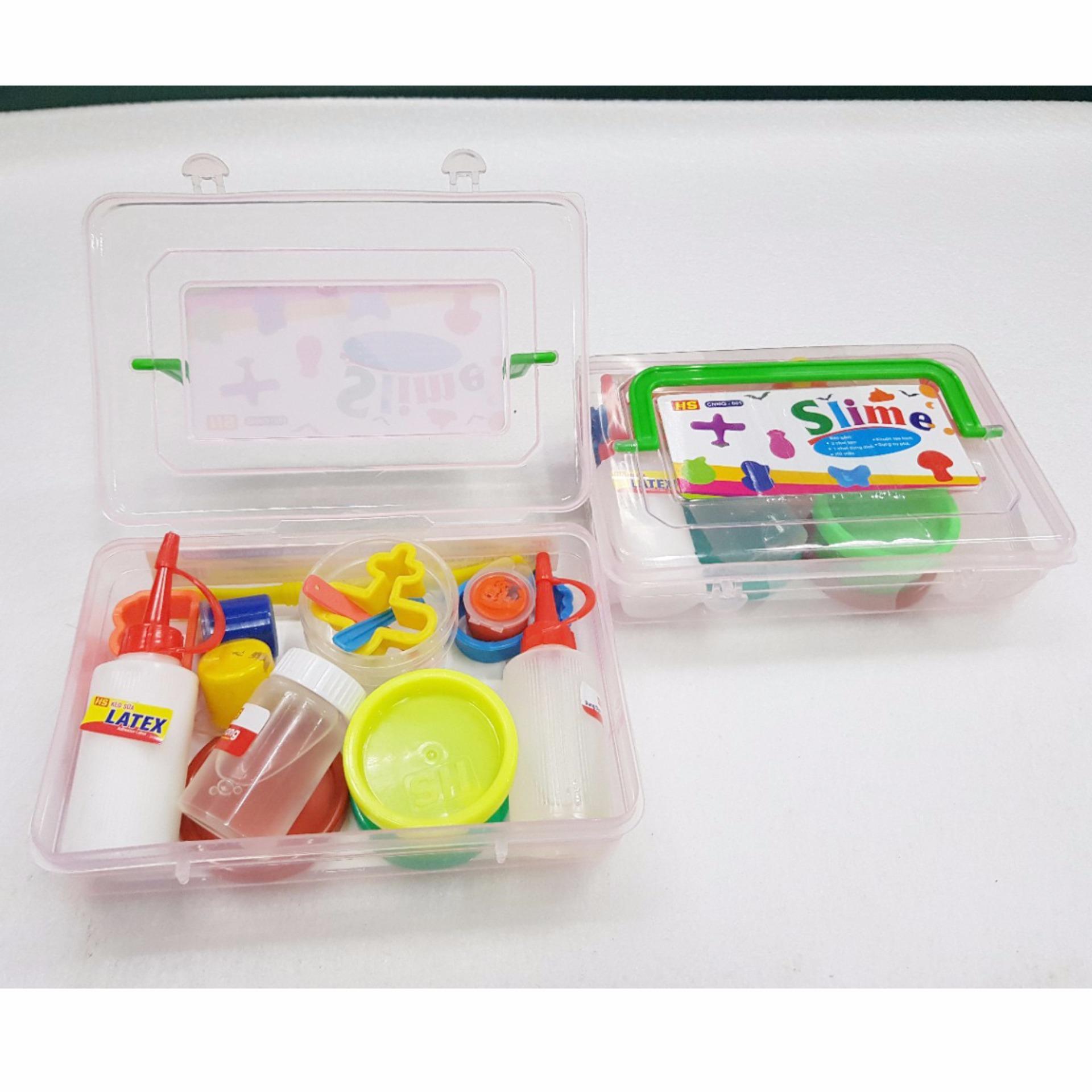 Bộ đồ chơi Slime – chất nhờn ma quái
