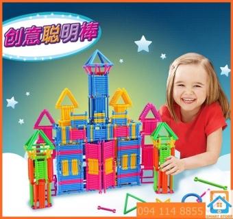 Bộ đồ chơi thanh ghép hình 3D cho trẻ >3 tuổi Smart Store 2014256 chi tiết