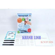 Bộ đồ chơi vẽ họa tiết đa chức năng Spirograph Deluxe Kit cực sáng tạo – Khánh Linh