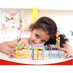 Bộ đồ chơi xếp hình ghép que phát triển tư duy cho bé