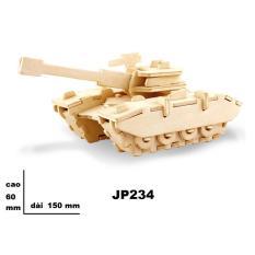 Bộ ghép hình 3D bằng gỗ JP234