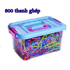 BỘ LẮP GHÉP ĐỒ CHƠITOY BRICK 800 thanh ghép cho bé thỏa sức sáng tạo