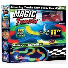 Bộ lắp ghép đường đua ô tô Magic Tracks 220 pcs
