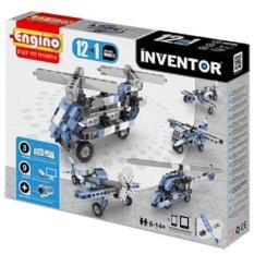 Bộ lắp ráp Mô hình máy bay Engino Inventor 1233 – Engino Inventor Aircrafts Models 12 in 1