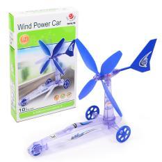 Bộ lắp ráp wind power car chạy bằng sức gió cho bé chơi mà học