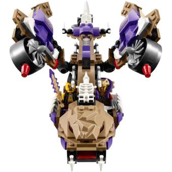 Bộ LEGO NINJAGO máy bay độc xà 70746 (311 chi tiết) - 5