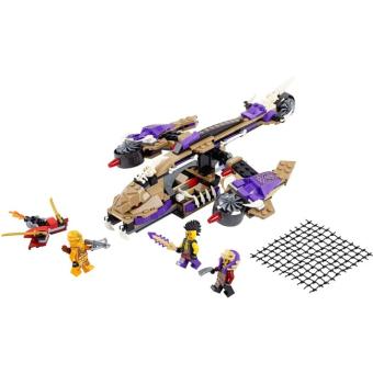 Bộ LEGO NINJAGO máy bay độc xà 70746 (311 chi tiết) - 2