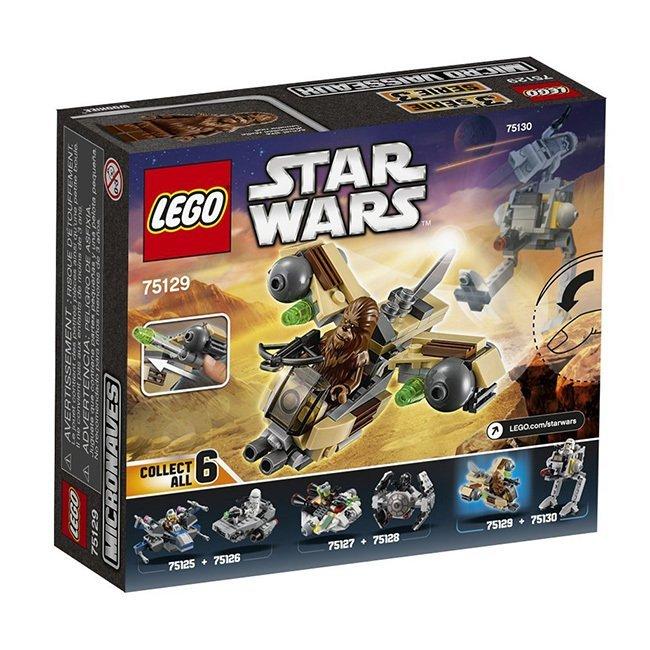 Hình ảnh Bộ LEGO STAR WARS Phi Thuyền Chiến Đấu Của Wookiee 75129 (84 chi tiết)