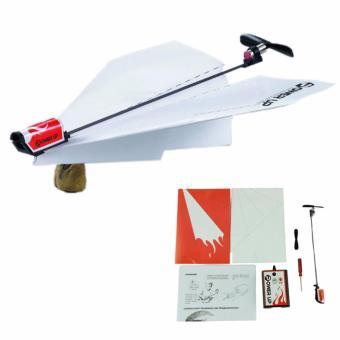 Bộ máy bay gập giấy có gắn động cơ Power Up 2.0 (Đỏ) - 3