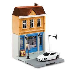 Bộ mô hình cửa hàng thức ăn nhanh RMZ-614008