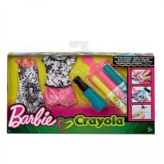 Bộ phụ kiện thời trang kèm màu vẽ thiết kế BARBIE-FPW12