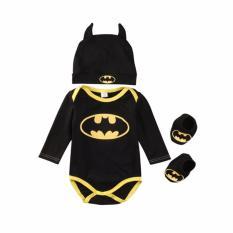 Bộ quần áo body hóa trang Batman sơ sinh (ngắn tay hoặc dài tay)