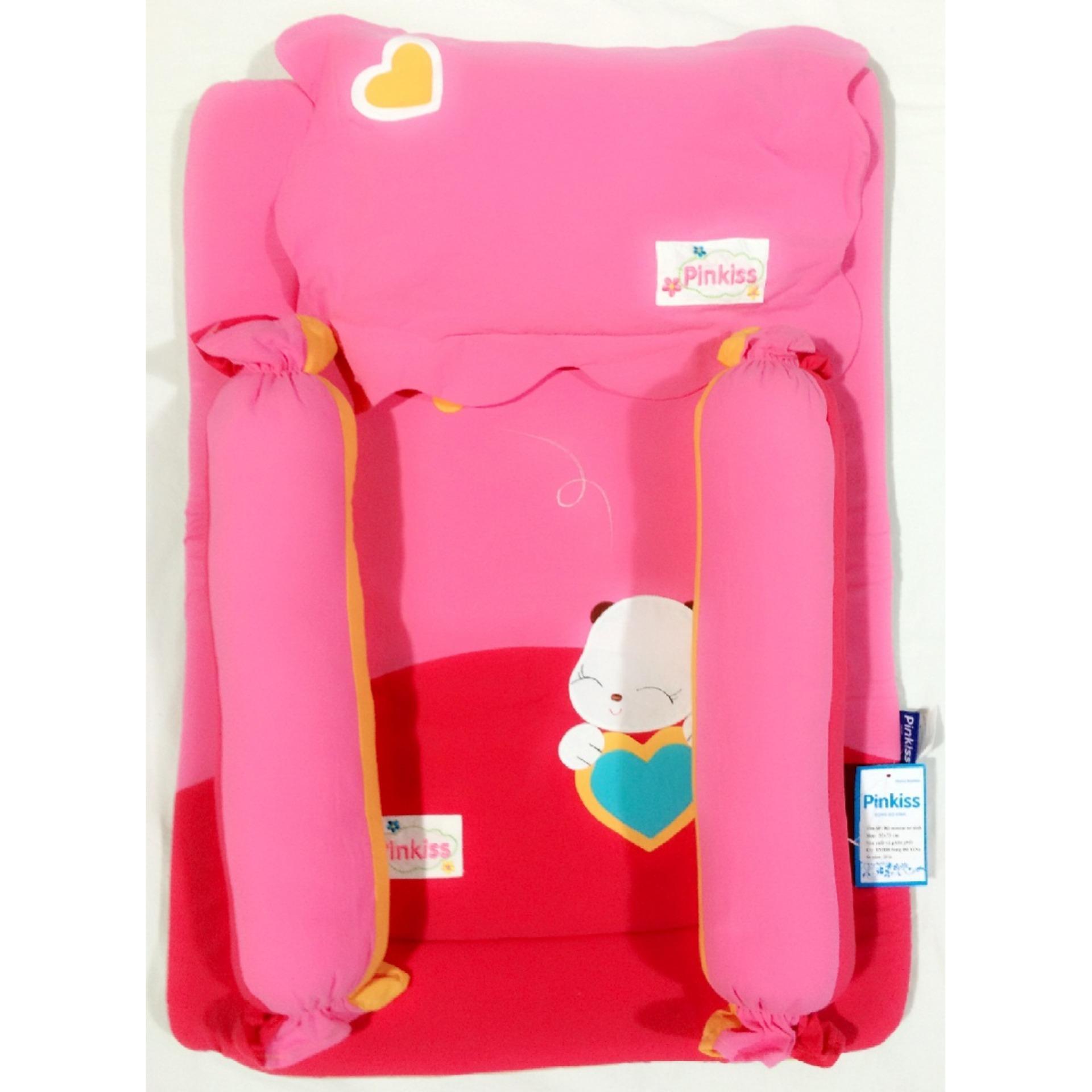 Bộ sơ sinh Pinkiss trẻ em êm ái( đỏ, xanh lá, xanh dương, hồng)