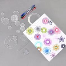 Bộ thước vẽ họa tiết sáng tạo cho trẻ Spirograph – Kmart