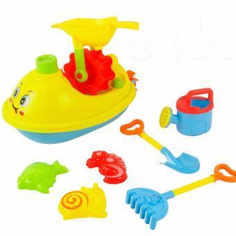 Bộ thuyền đồ chơi cát cho bé