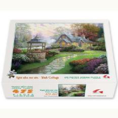 Bộ tranh xếp hình 475 mảnh – Ngôi Nhà Mơ Ước
