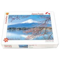 Bộ tranh xếp hình jigsaw puzzle 2035 mảnh – Núi Phú Sĩ