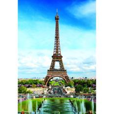 Bộ tranh xếp hình tháp Eiffel 247 mảnh