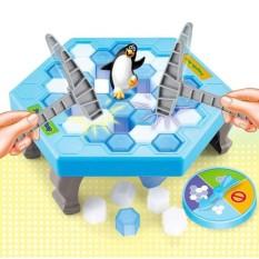 Bộ trò chơi bẫy chim cánh cụt Penguin Trap (Xanh phối trắng)
