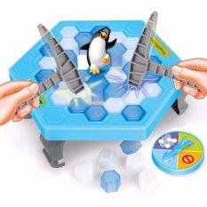 Bộ trò chơi bẫy chim cánh cụt – phá băng(Xanh dương nhạt)