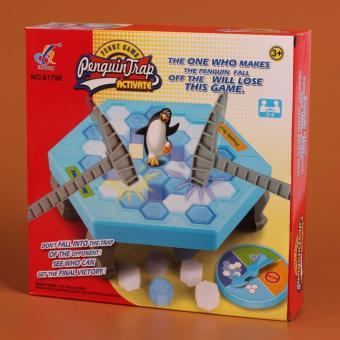Bộ trò chơi bẫy chim cánh cụt (Xanh dương)