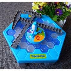 Bộ trò chơi đập chim cánh cụt Penguin Trap thông minh Smart