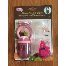 Giá Niêm Yết Bộ túi nhai dặm cho bé GB Baby hình cú mèo (Tím)  Hotanu's Shop