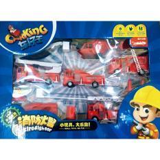 Bộ xe lính cứu hỏa ( 6 loại) Carking