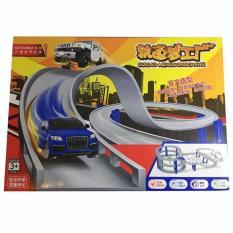 Bộ xe mô hình đường ray CCTV 066