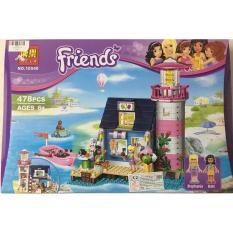 Bộ xếp hình Bela Friends 10540 ( có 478 miếng ghép