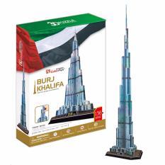 Bộ xếp hình giấy 3D CubicFun mô hình tòa tháp Burj Khalifa MC133h 136 mảnh