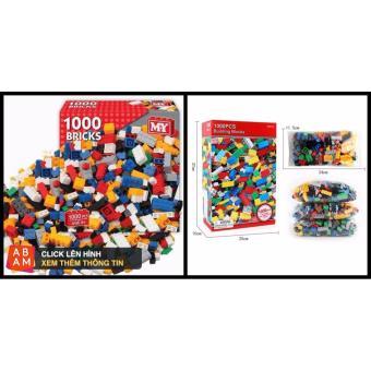 Bộ xếp hình Lego 1000 chi tiết cho bé sáng tạo