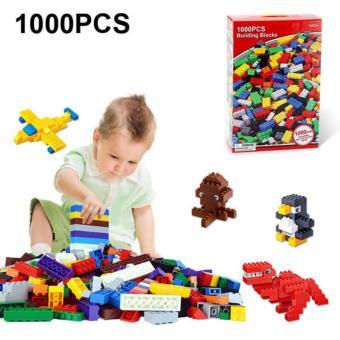 Bộ xếp hình lego 1000 chi tiết cho bé thỏa sức sáng tạo