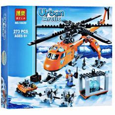 Bộ xếp hình Urban – Máy bay thám hiểm vùng bắc cực