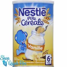 Bột pha sữa Nestle Pháp vị vani cho trẻ trên 6 tháng tuổi 400g