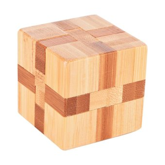 Brain Teaser Intellectual RemovingMagic Cube Logic Puzzles Toy -intl