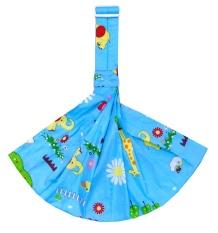 Cotton thoáng khí ngang cho bé sling, bé khăn tắm lưng, sơ sinh cầm-intl