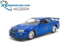 Trang bán Brian'S Nissan Skyline Gt-R 1:32 (Xanh)