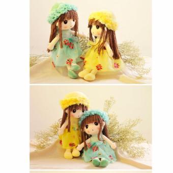 Búp bê đồ chơi sang trọng (màu vàng )
