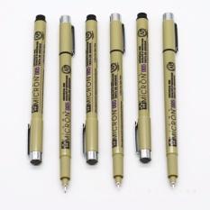 Bút kẻ lằn chìm Gundam Made in Japan – (Đen)