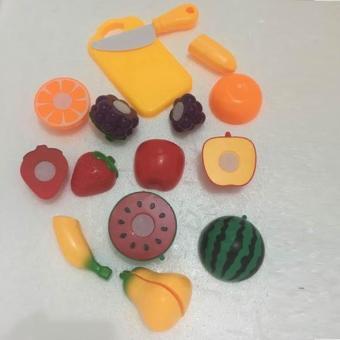 Cắt ghép hoa quả - Đồ chơi tập thể vui nhộn cho các bé gái