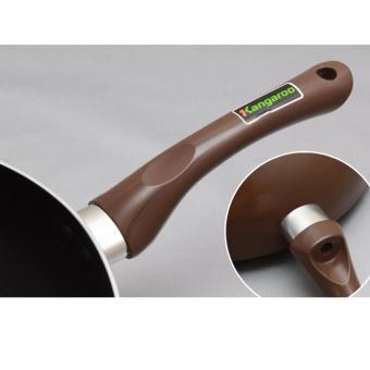 Chảo chống dính sâu lòng nắp kính Kangaroo KG919M 28cm - 4