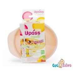 Chén ăn dặm UPASS – Organic – Set 3 – 3 màu UP5184O3